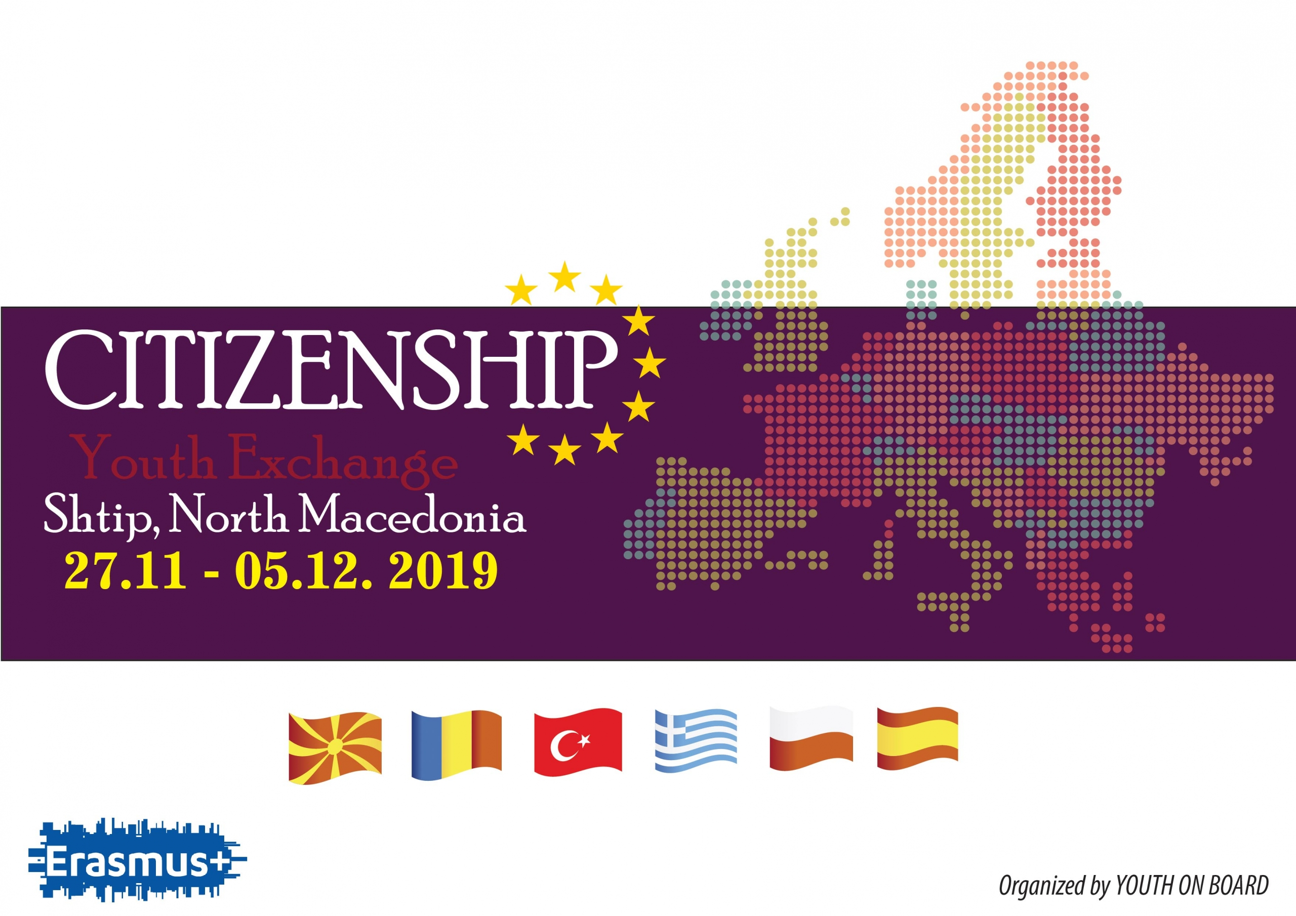 CITIZENSHIP – Youth Exchange 27.11-05.12.2019