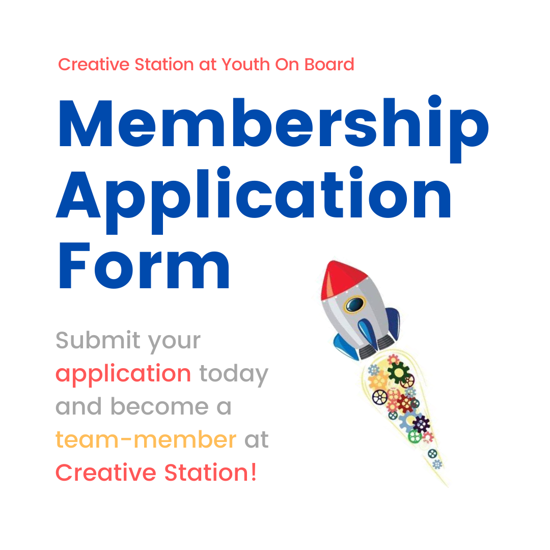Apply to become a Creative Station Member!