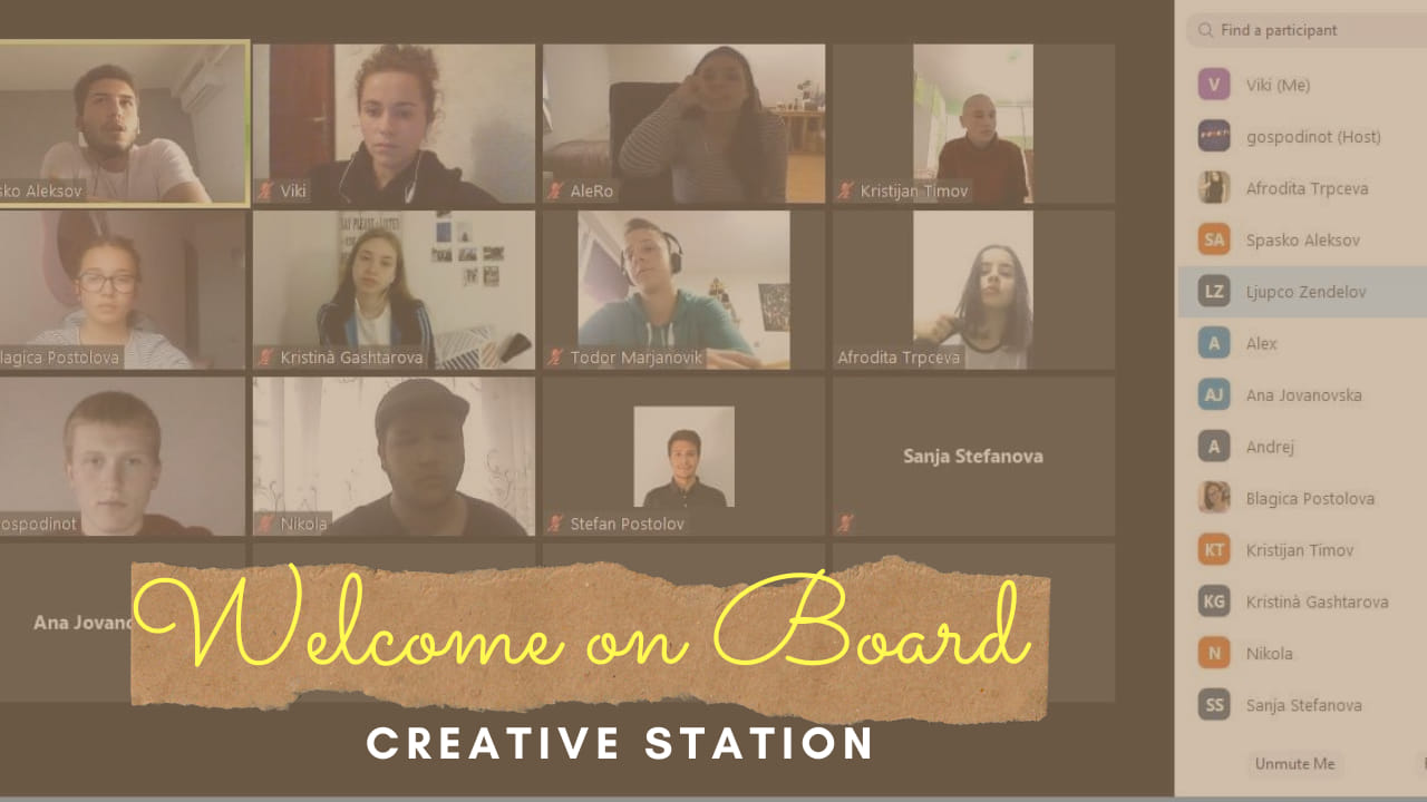 Creative Station First Meeting