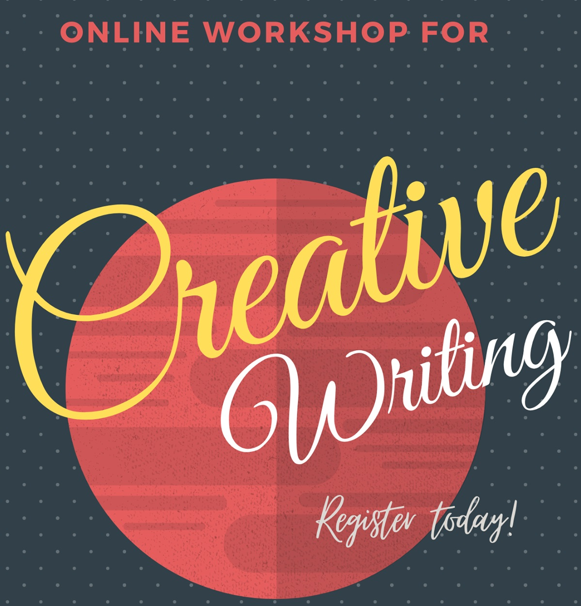Online Workshop for Creative Writing
