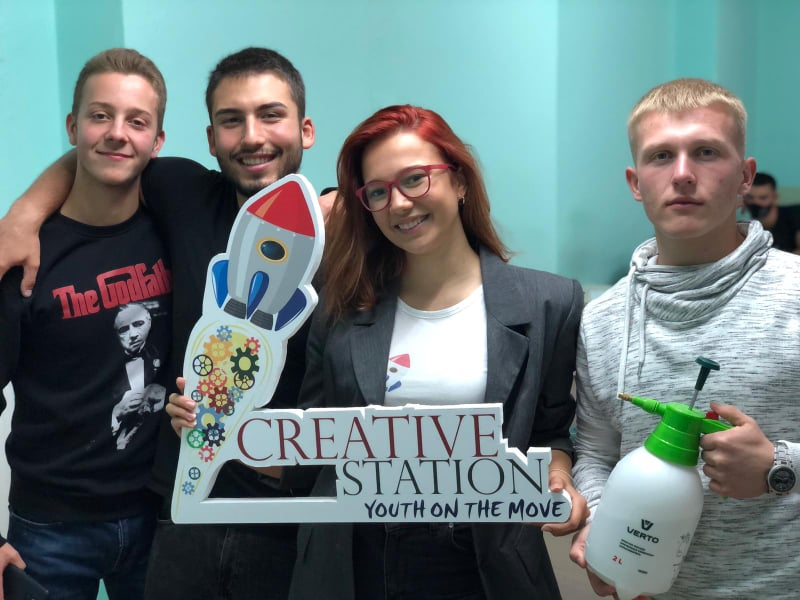 Creative Station: Youth helping Youth