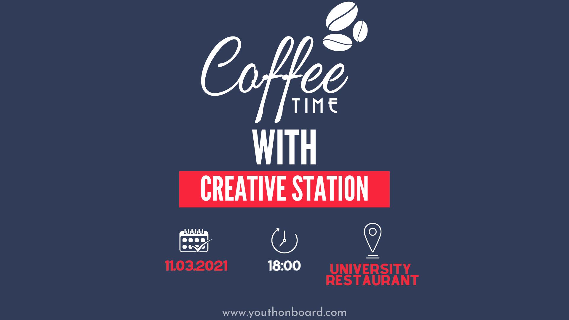 На кафе со Креативна Станица